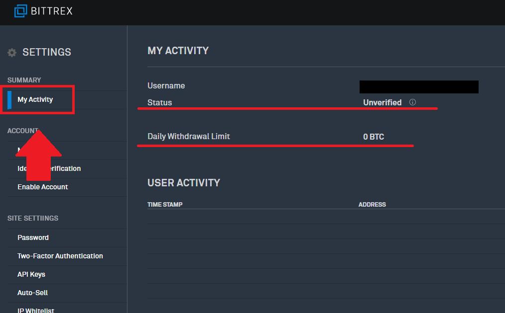 Bittrexの口座開設と二段階認証設定の手順20