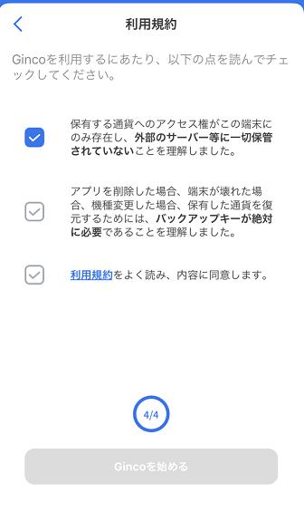Ginco initial setting 7
